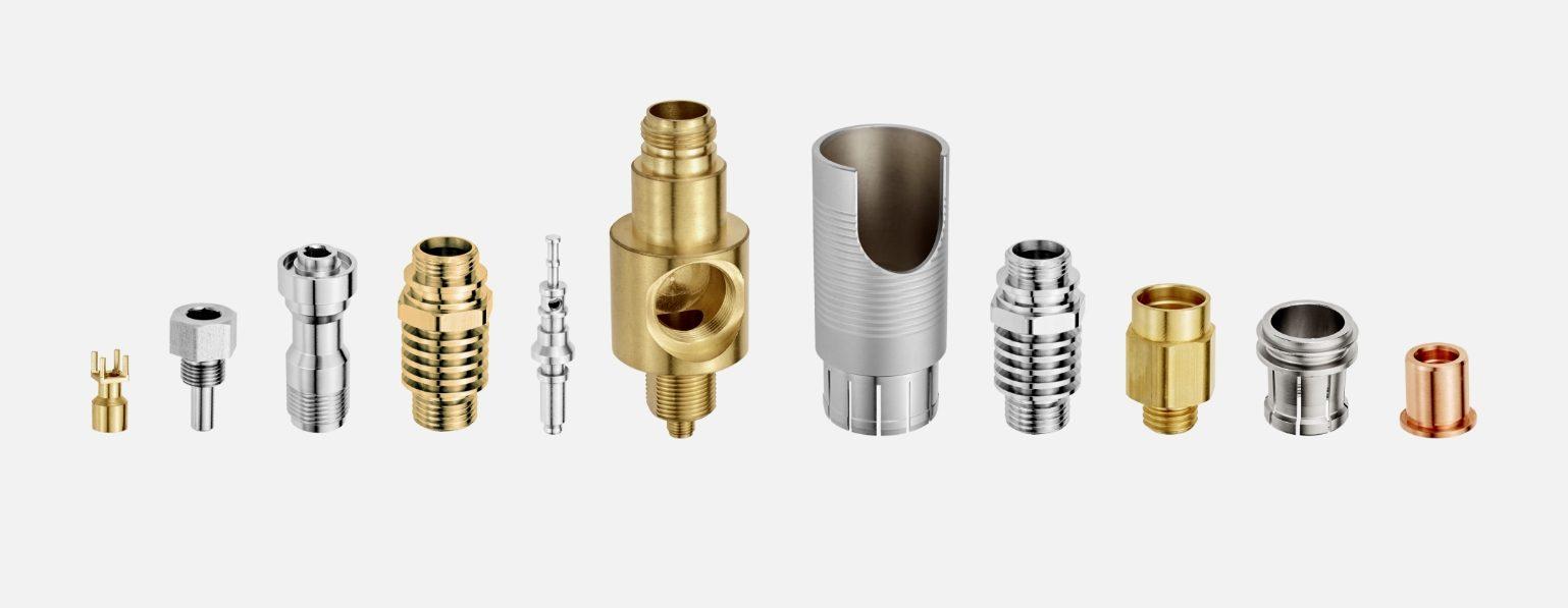 Usinage de pièces produites sur des tours CNC monobroches