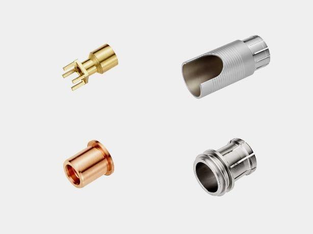 connecteurs-électriques-usinées-cnc